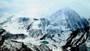 Skigebied Gudauri in Georgië