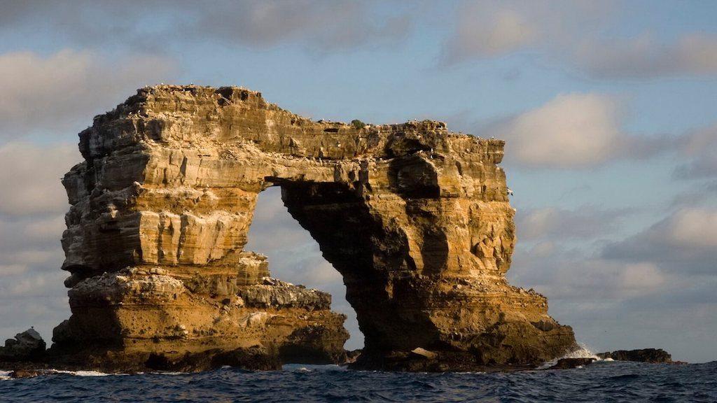 Darwin's Arch bij de Galapagos eilanden