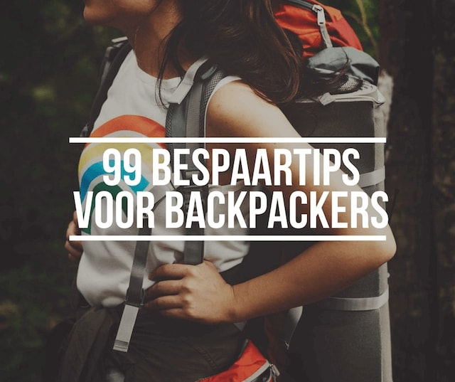 Facebook button voor 99 bespaartips voor backpackers