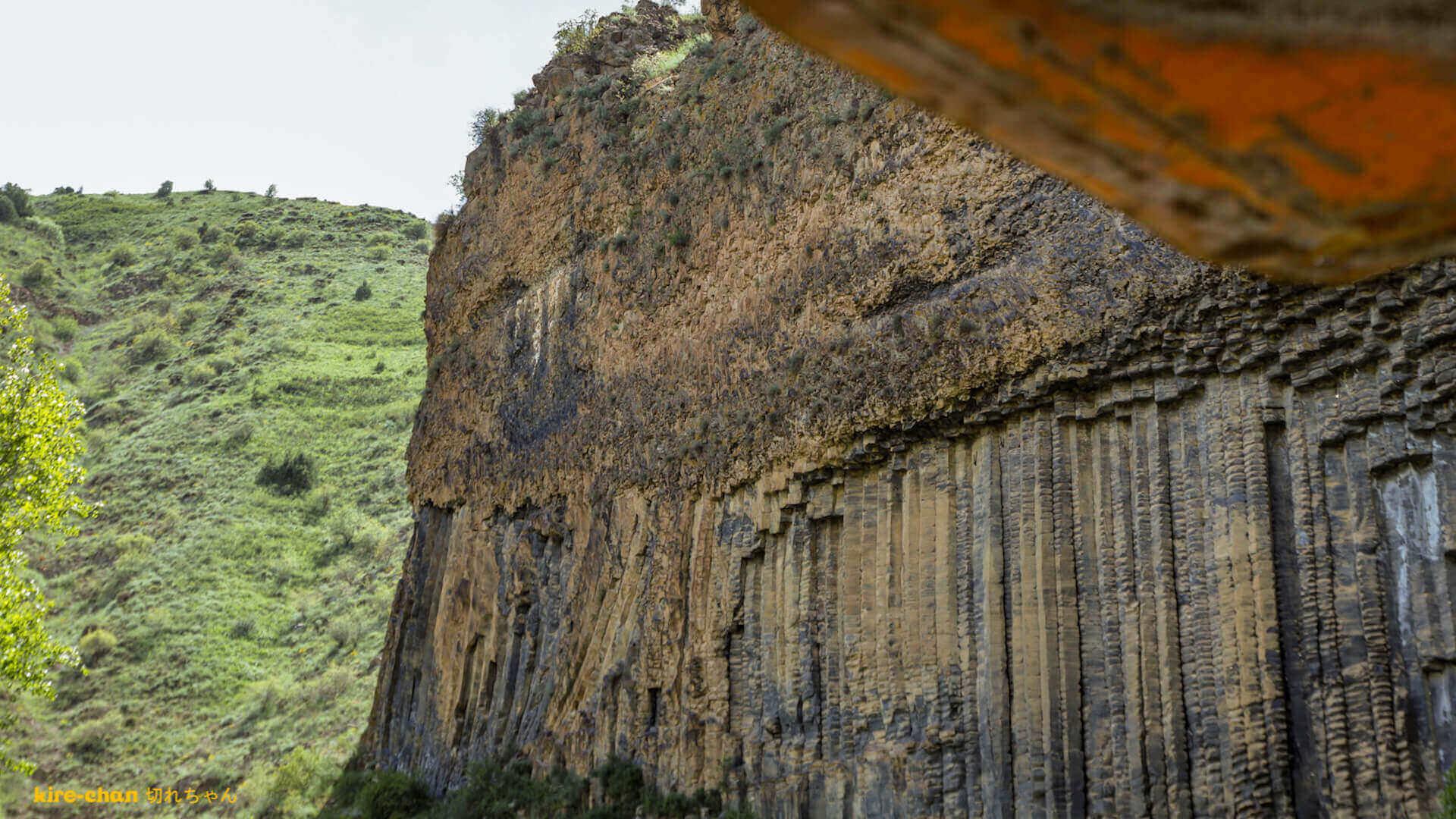 Symphony of the Stones in de Garni Kloof in Armenië