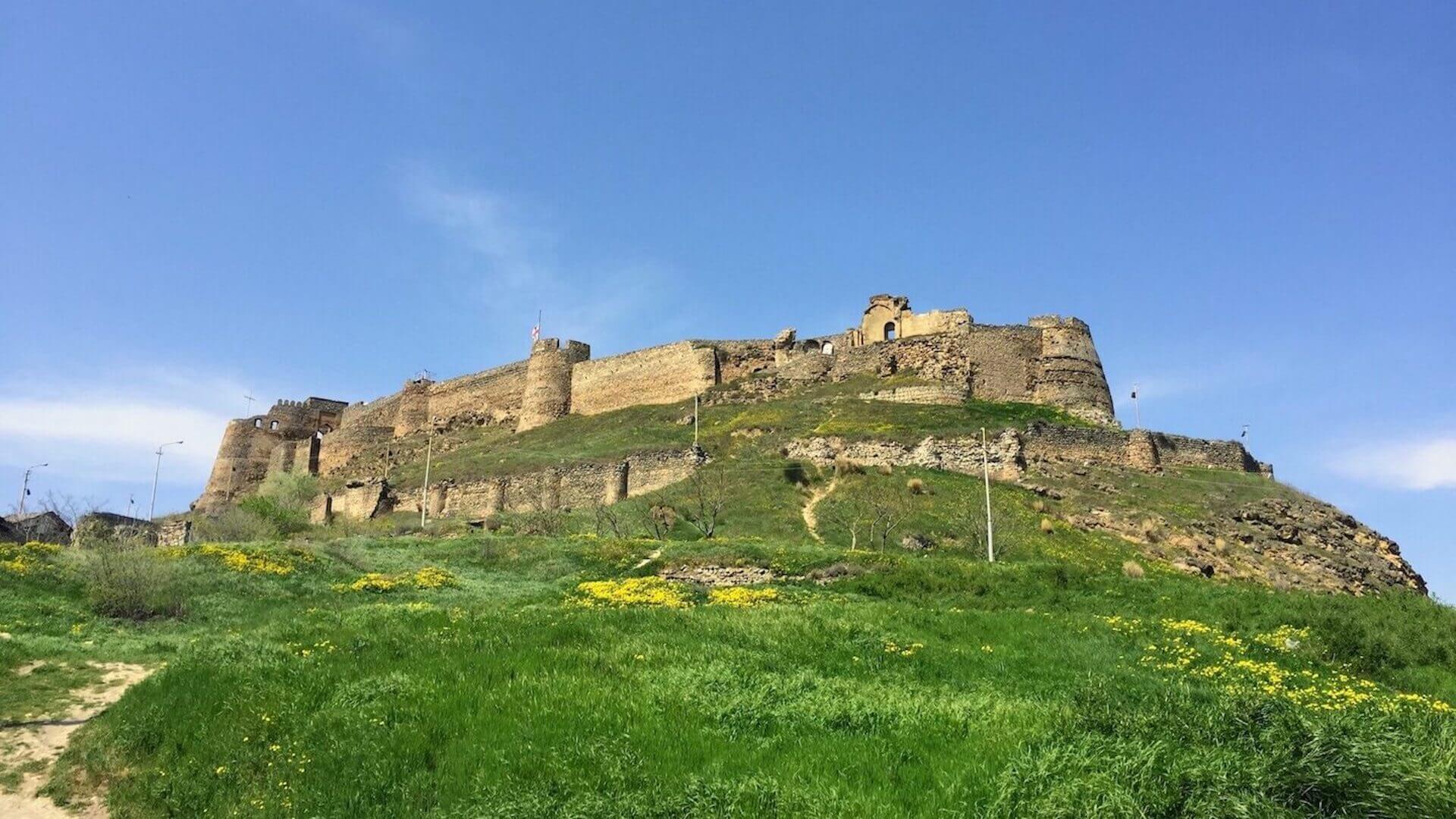 De citadel van Gori in Georgië