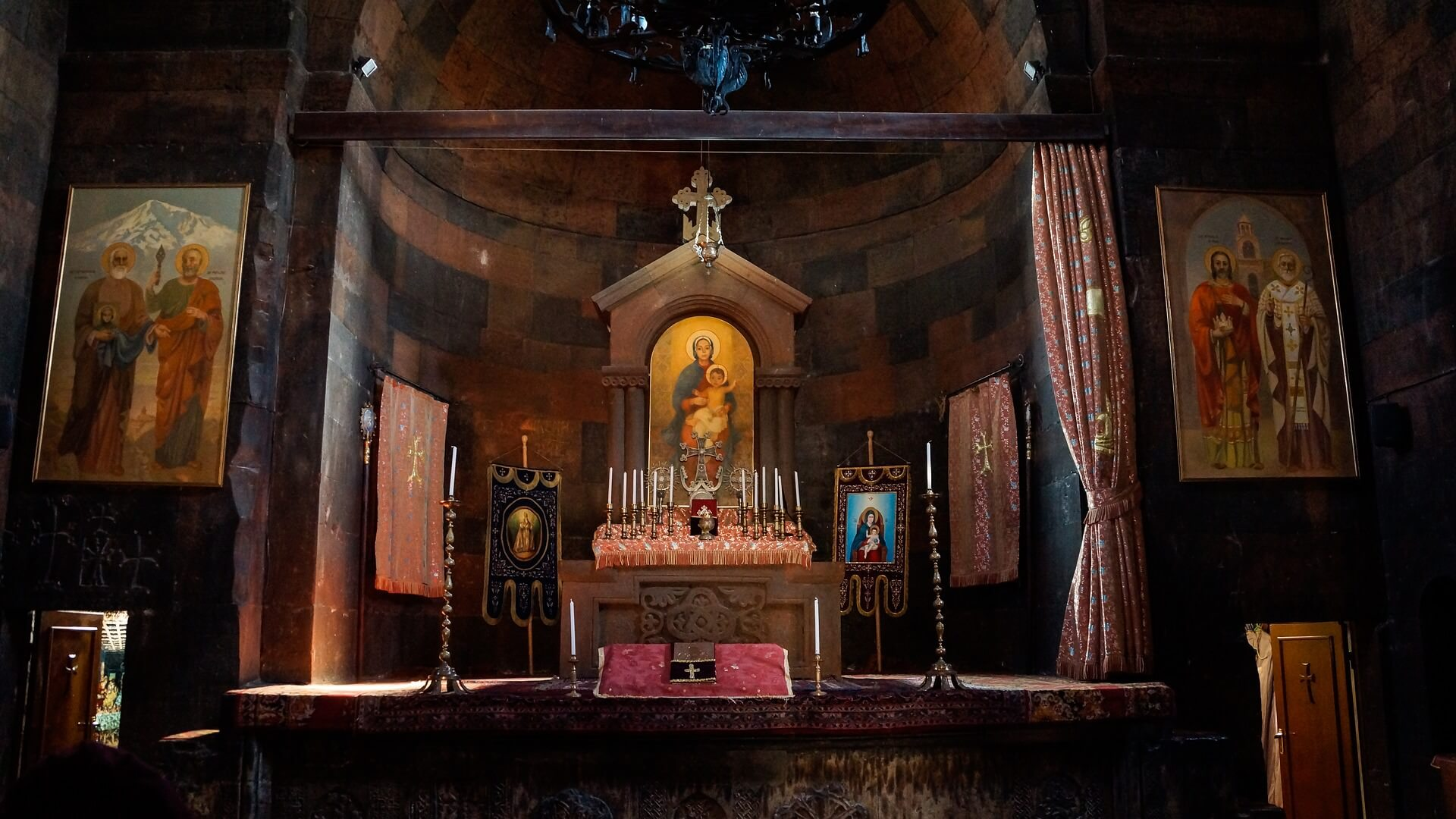 Kapel in het klooster van Khor Virap in Armenië