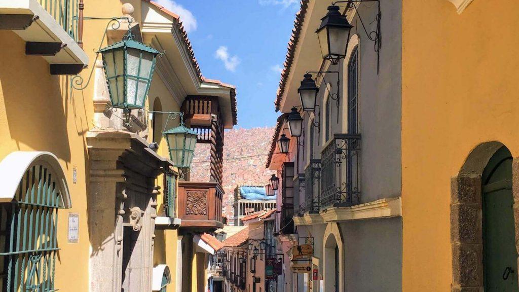 Calle Jean in La Paz, Bolivia