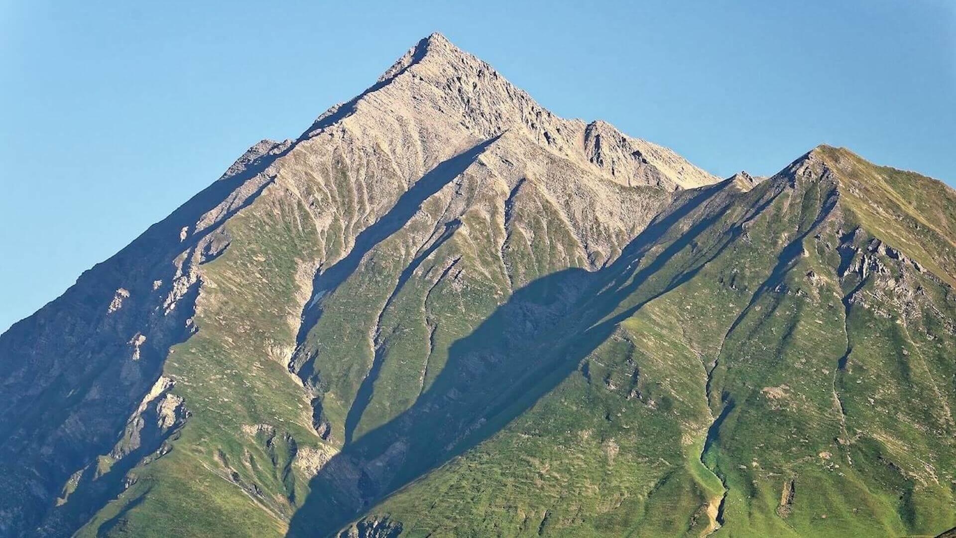 Bergtoppen bij Mtskheta
