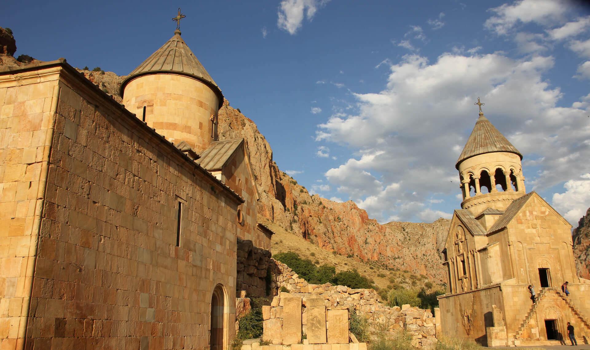Klooster van Noravank in Armenië