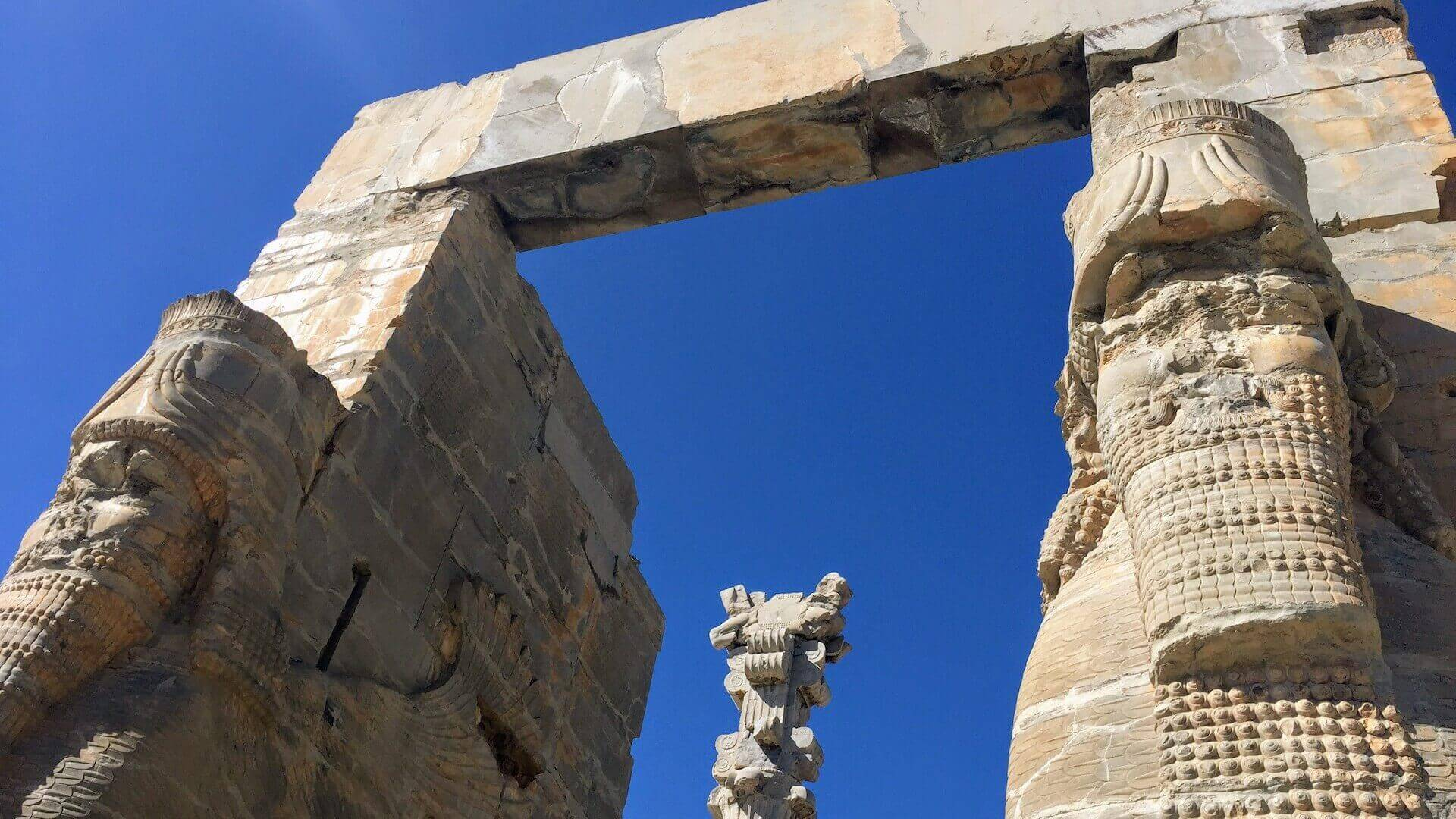Gate of all Nations in Persepolis