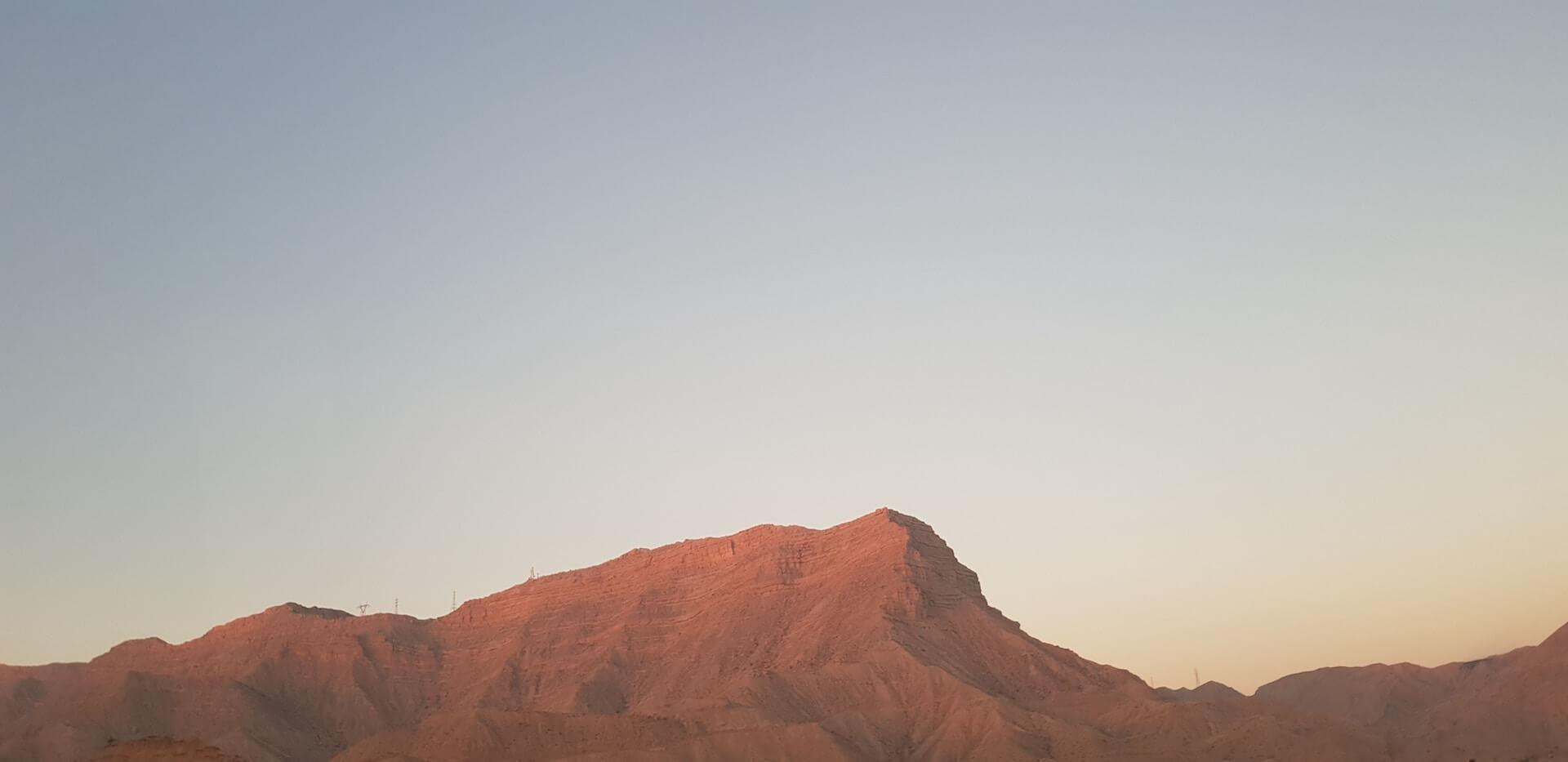 Bergen bij Shiraz in Iran