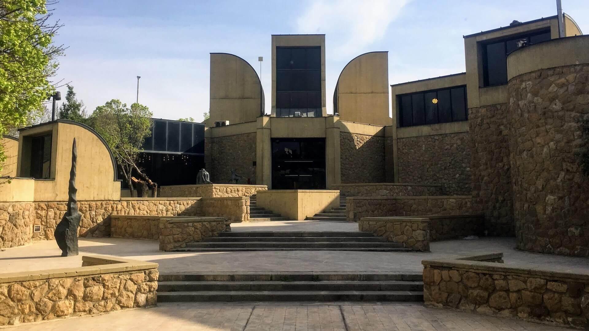 Het hedendaagse kunst museum van Teheran in Iran