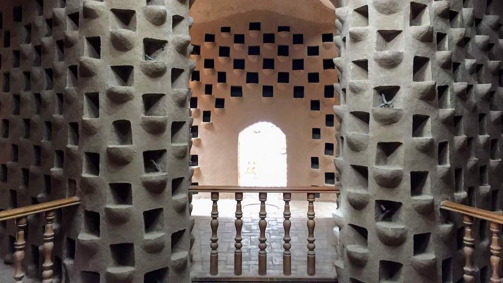 Pigeon tower in Yazd in Iran