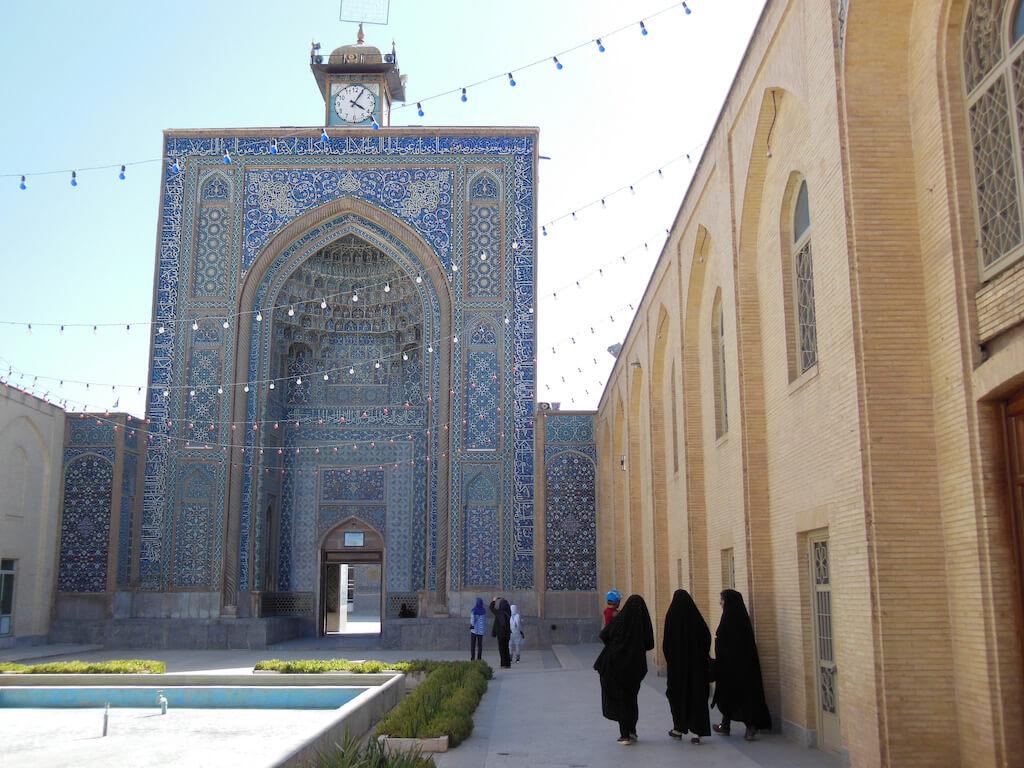 Portaal van de vrijdagmoskee in Kerman