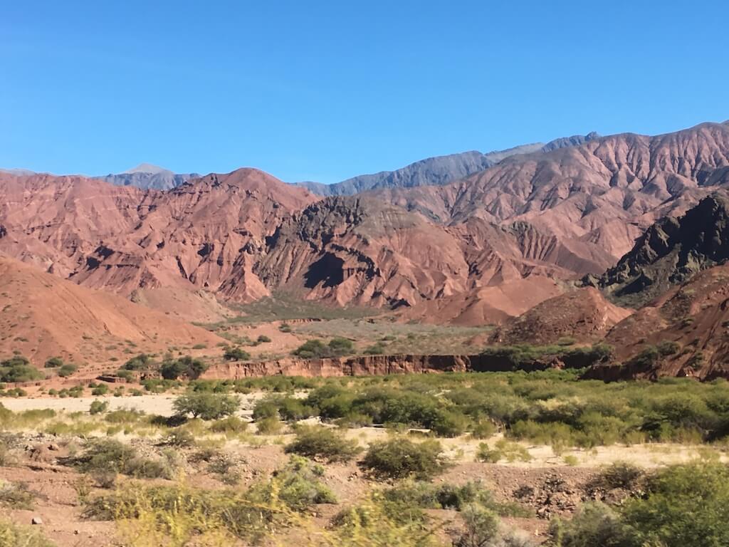 Uitzicht in de Quebrada las Conchas