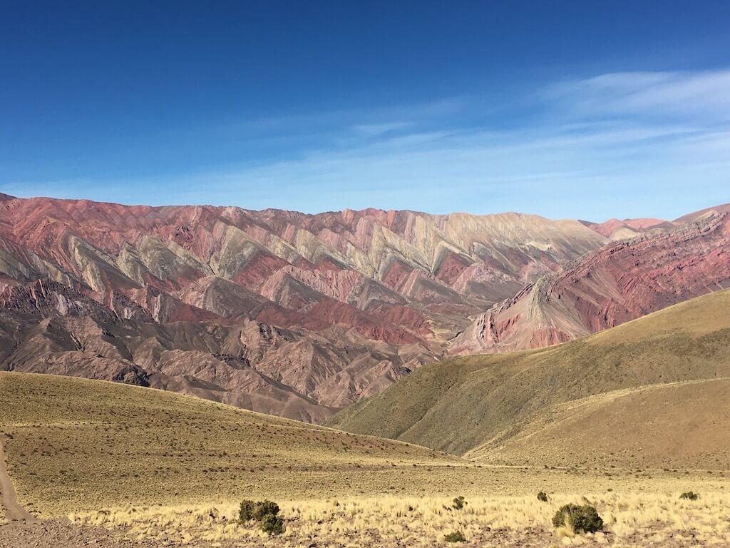 Berg met 14 kleuren in Argentinië