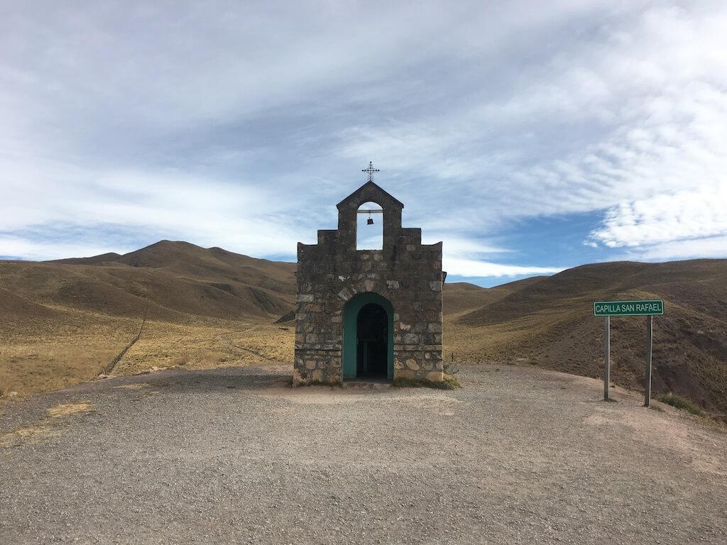 Capilla San Rafael in de Valle Encantada in Argentinië