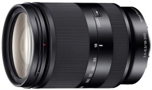 Sony superzoom lens