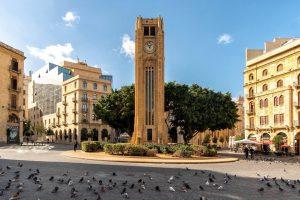 Klokkentoren in het centrum van Beiroet