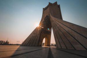 Azadi toren in Teheran