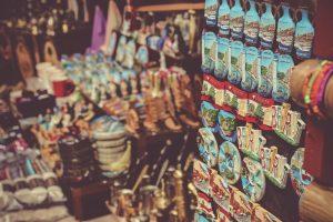 Souvenir winkel in Libanon