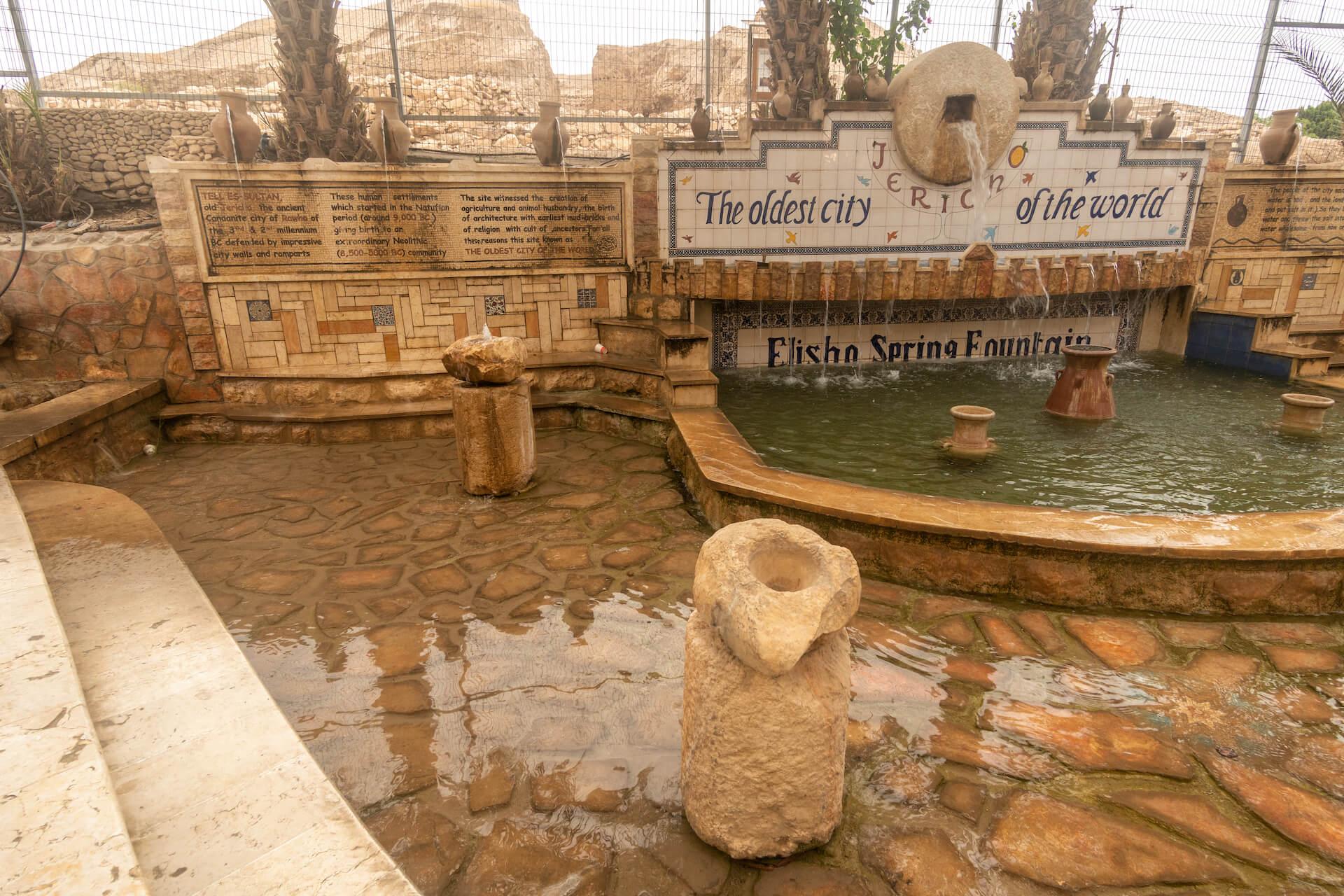 Elisha bron in Jericho